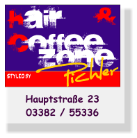 & HAIR COFFEE Zone STYLED BY Hauptstraße 2303382 / 55336